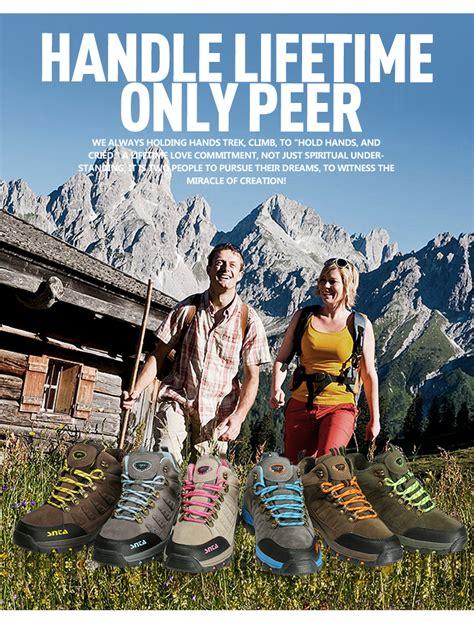 Sepatu Gununghikingoutdoor Waterproof Snta 607 Green Wanita sepatu hiking wanita snta 607 waterproof okebuy