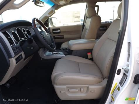 Toyota Sequoia Interior Colors by Sand Beige Interior 2013 Toyota Sequoia Platinum Photo