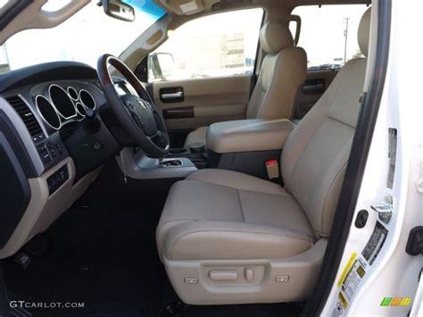 sand beige interior 2013 toyota sequoia platinum photo