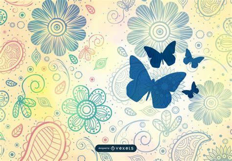 wallpaper vintage vector design background vintage flower pattern background vector art vector download