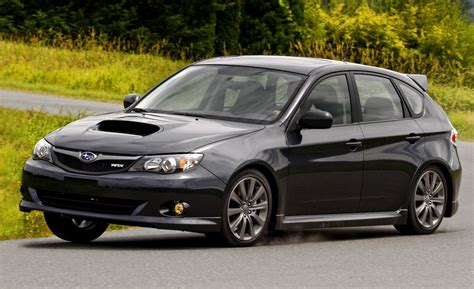 wrx subaru 2009 car and driver
