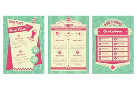 50s diner menu template free 50 s diner menu template best and professional