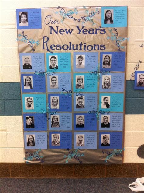 new year for elementary school our new year s resolutions elementary school january
