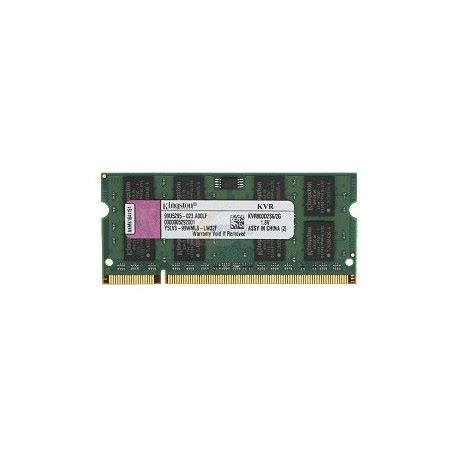 banco di ram modulo banco memoria ram ram 2gb kingston so dimm ddr2 800