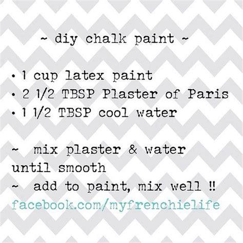 chalk paint recipe using plaster of the world s catalog of ideas