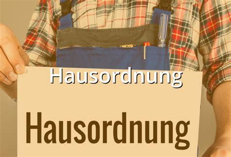 Hausordnung Muster by Hausordnung Muster Musterix