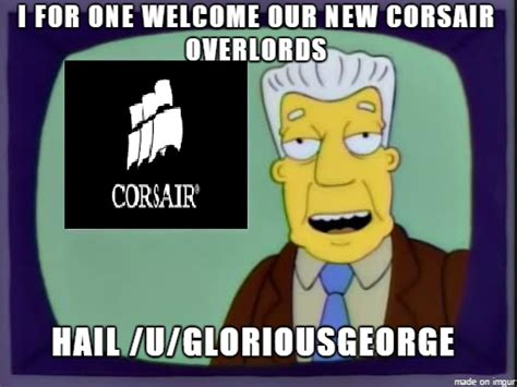 Corsair Giveaway - how everyone feels about corsair after the recent fake giveaway rebrn com