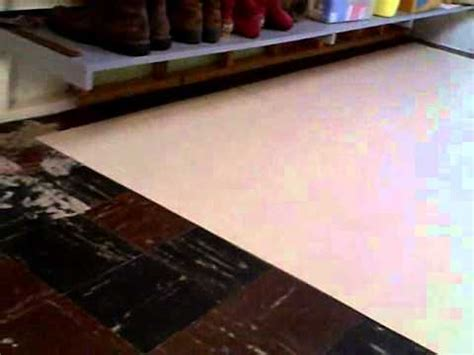 Laying Armstrong  Peel Stick Vinyl Tiles  Easy