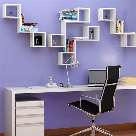 estante de parede nicho prateleira de parede mdf branco livros enfeites