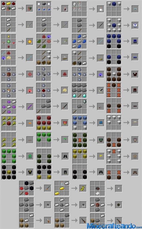Furniture Mod Recipes by Op Craft One Mod Para Minecraft 1 7 2 1 6 4 1 5 2