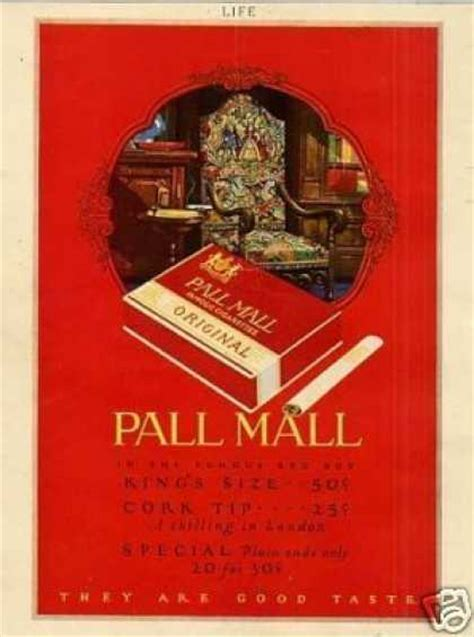pall mall colors vintage tobacco cigarette ads of the 1920s page 8