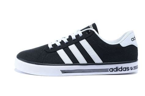 adidas canvas shoes black white order www