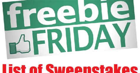 Small Giveaways - coupons and freebies freebie friday giveaways over 50 small giveaways from various