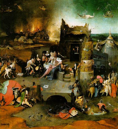 hieronymus bosch webmuseum bosch hieronymus the temptation of st anthony