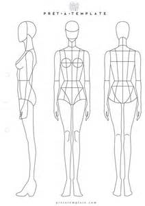 templates for fashion design 1000 ideas about fashion illustration template on