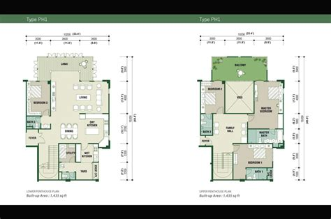 Malaysia Property Real Estate Big House Management Plan My House Layout