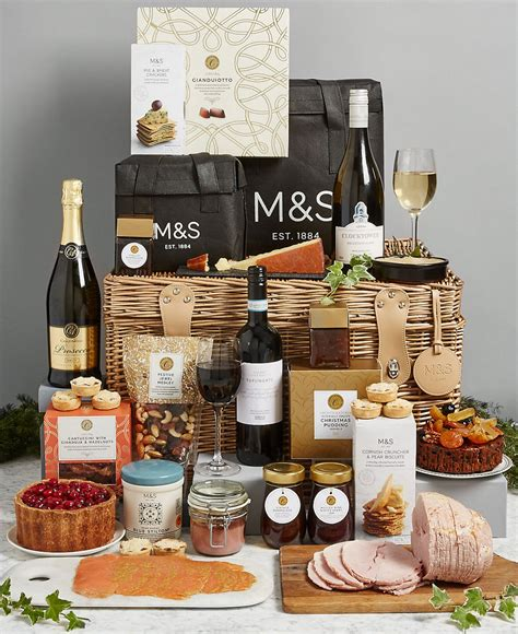 marks and spencer uk gift baskets best hers for a delicious seasonal feast ideal home
