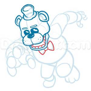 how to draw five nights at freddy s learn to draw fnaf books how to draw freddy fazbear five nights at freddys step 15