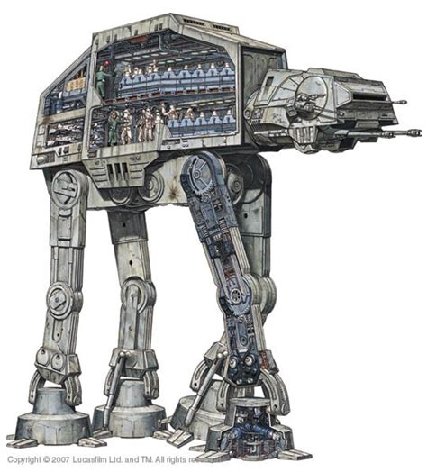 Starwars Assault Walker Marcheur Dassaut Hasbro tb tt maquettes en papier paper models ペーパーモデル