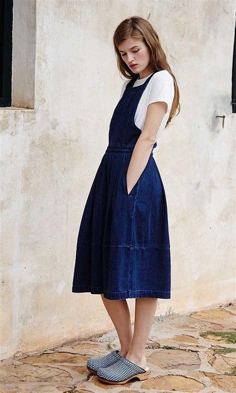Plain Pinafore Midi Dress 1000 ideas about pinafore dress on navy