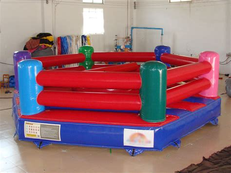adult bounce house inflatable wrestling ring for adult qiqi toys inflatables