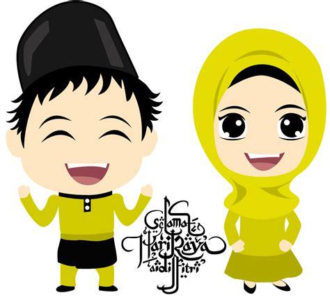 wallpaper cartoon hari raya fizgraphic freebies cartoon aidilfitri 2014