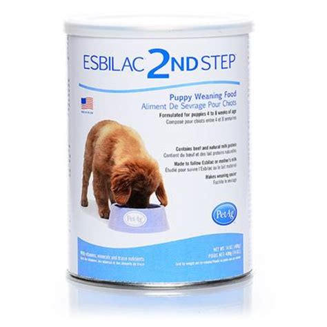 puppy weaning food esbilac 2nd step puppy weaning food petcarerx
