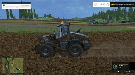 Handmade Ls - liebherr l538 custom camo and shovel v1 0 ls 15 farming