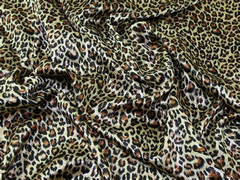 leopard print fabric satin leopard animal print dress fabric asp leopard wine