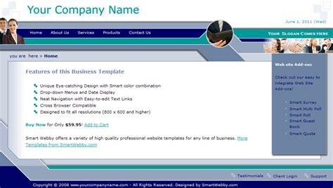 cool dreamweaver templates cool business template