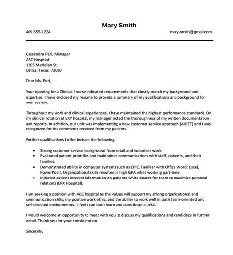 Cover Letter Download Free – Simple Cover Letter Template   36  Free Sample, Example