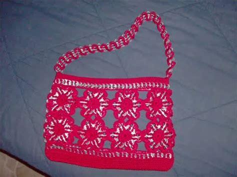 tejer con fichas de lata 1 046 parte 2 3 como hacer bolsa flores arillos ganchillo