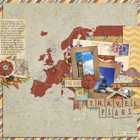 scrapbook layout maps 78 best images about scrapbook voorbeelden travel on
