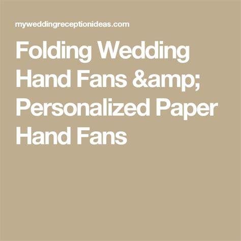 personalized folding fans for weddings best 25 wedding fans ideas on wooden fan