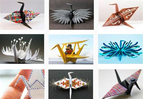 Origami Paper Works - a new and creative way to thousand origami cranes