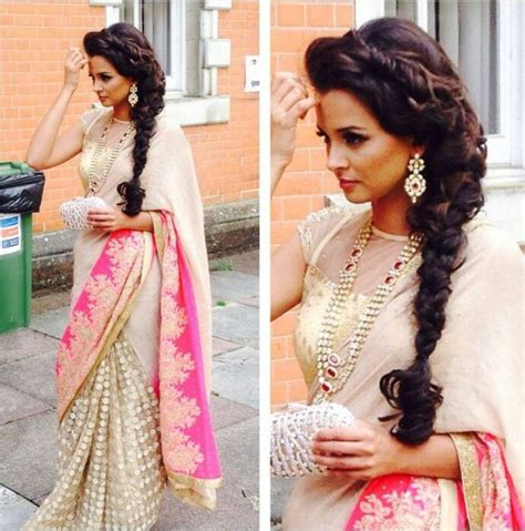 hairstyles with indian outfits visit us at https www facebook com pages zarah