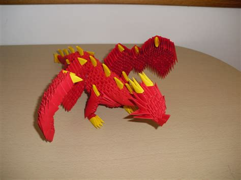 How To Make A Origami 3d - 3d origami by justtree on deviantart