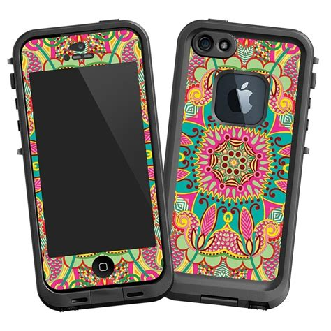 Lifeproof Fre Iphone4 4s 5 5s brilliant tribal quot protective decal skin quot for