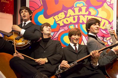 how a haircut changed the world the beatles create the the beatles in madame tussauds jigsaw puzzle in people