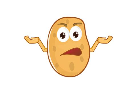 potato comic free illustration potato character comic