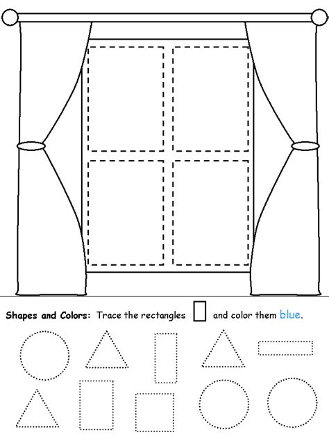 Rectangle Worksheet by Rectangles Window