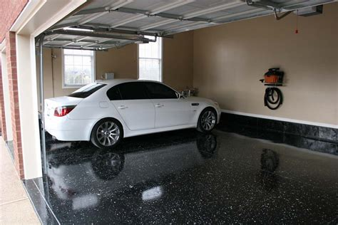 Garage Floor Epoxy Black by Garage Epoxy Flooring Style Home Ideas Collection