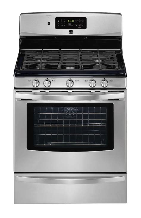 Kenmore Stove by Kenmore 5 0 Cu Ft Freestanding Gas Range Stainless