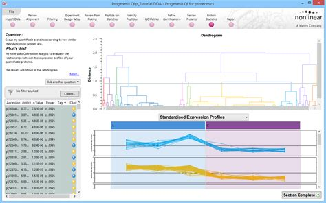 experiment design progenesis progenesis qi for proteomics