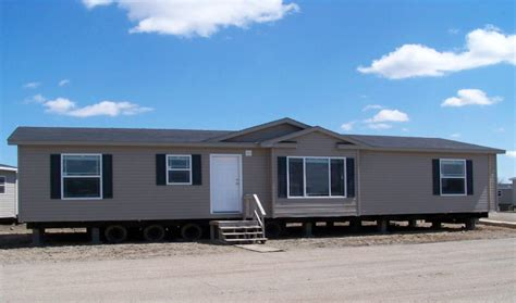 used wide homes