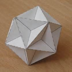 dodecahedron template paper great dodecahedron