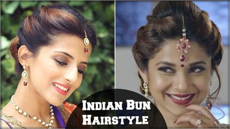 Easy Indian Wedding Hairstyles For Hair by Beyhadh Winget S Easy Bun Hairstyle For Indian