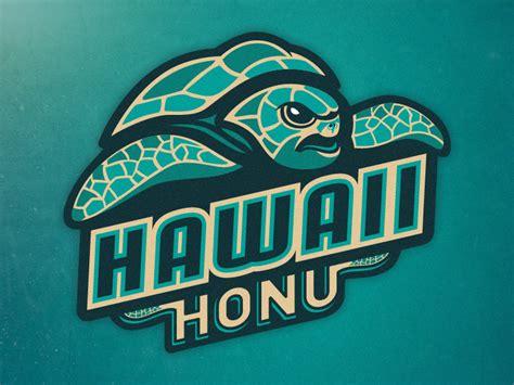 of hawaii logo hawaii honu primary logo concept by daniel otters dribbble