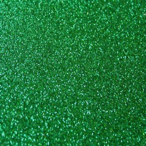 Decorative Flowers For Home by Luxury Glitter Paper Xmas Green