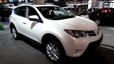 What Does Toyota 2013 Toyota Rav4 Limited Exterior And Interior